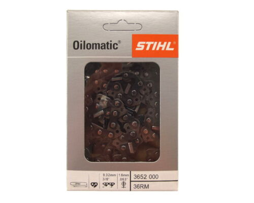2x45cm Stihl Rapid Micro Kette für Stihl MS362 Motorsäge Sägekette 3//8 1,6