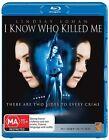 I Know Who Killed Me (Blu-ray, 2009)