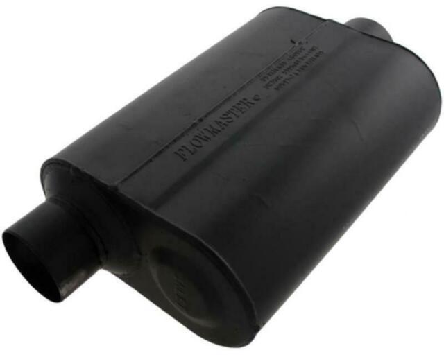 "Flowmaster Super 40 Series Delta Flow Muffler 3"" Offset Inlet/Center Outlet"