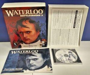 Talonsoft-Software-Computer-War-Game-Waterloo-Battleground-3-Big-Box-Mint-Disc