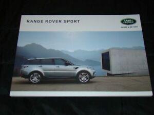 Range Rover Sport prospekt/brochure 2016 - Czestochowa, Polska - Range Rover Sport prospekt/brochure 2016 - Czestochowa, Polska