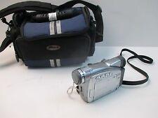 Canon ZR85 NTSC Digital Video Camera Camcorder MiniDV & SD Card Recorder w/ Case