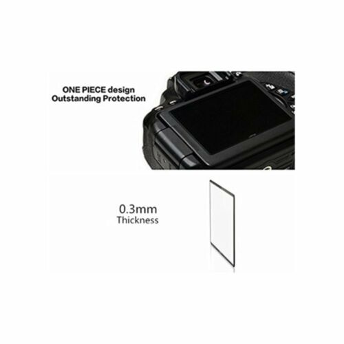 LARMOR LCD Glass Screen Protector for Nikon D7200 D7100 Immediate dispatch GGS
