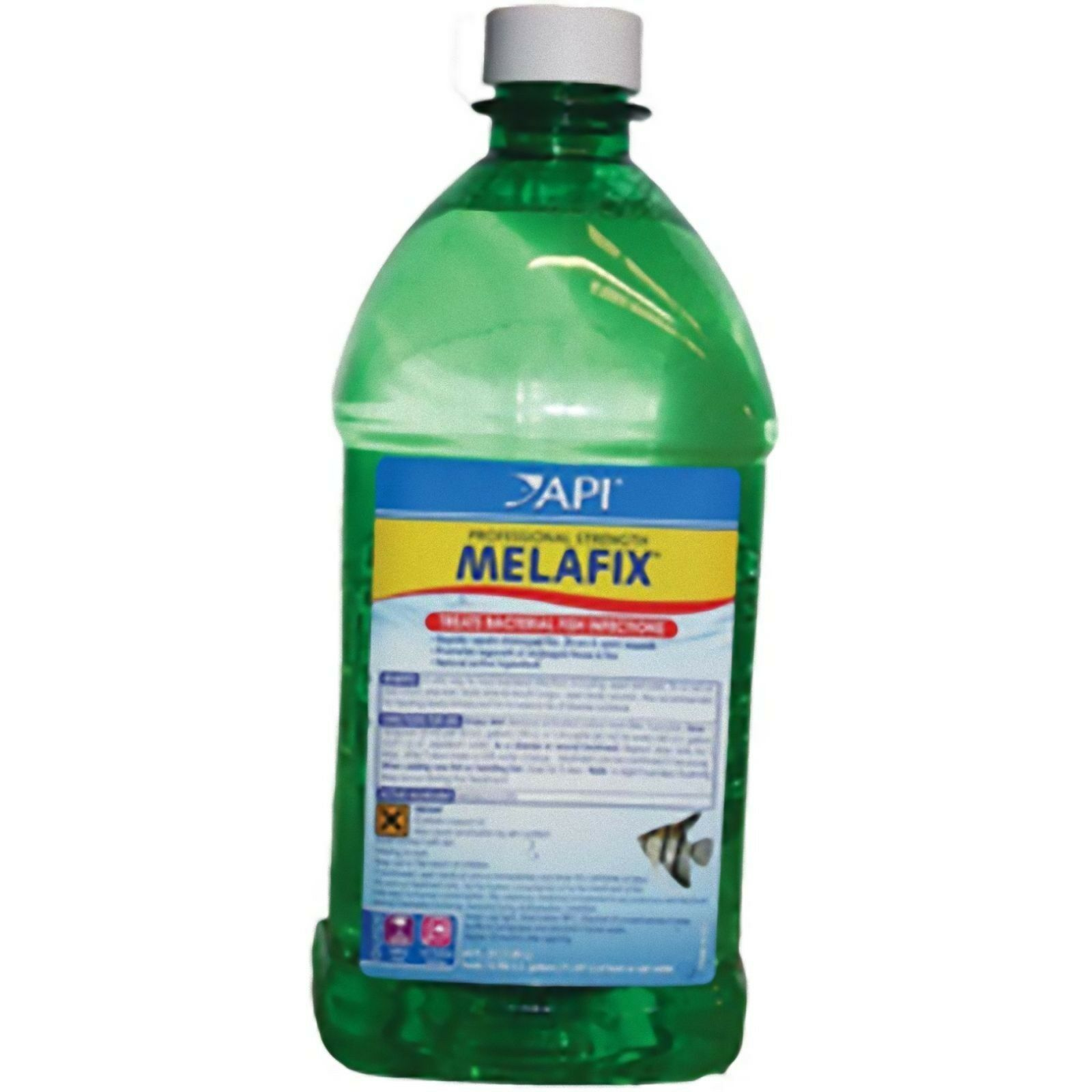 API Melafix 1.9l Tropical Fish Treatment Medication Treats Ulcers fungus