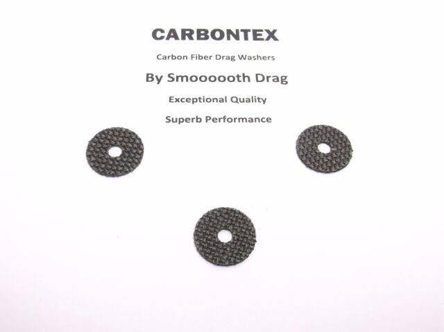 3 Smooth Drag Carbontex Drag Washers #SDS60 SHIMANO REEL PART Catana 2500FC