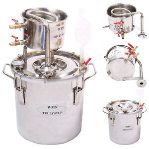 Home-Distiller-Moonshine-Still-Spirits-Stainless-Steel-Water-Alcohol-Oil-Brew