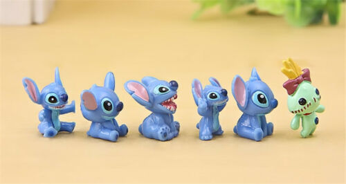 12pcs Disney Lilo /& Stitch Action Figures Collection Kids Toy Doll Gifts 3.5cm