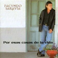 Facundo Saravia - Por Esas Cosas de la Vida [New CD]