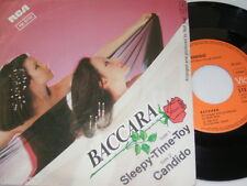 """7"""" - Baccara / Sleepy Time Toy & Candido - MINT 1980 # 3478"""