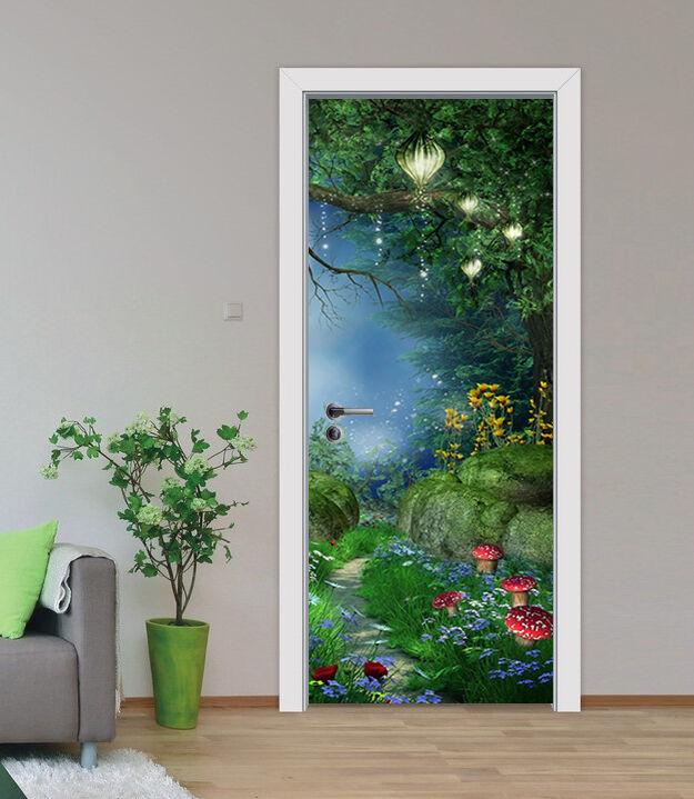 3D Wald 86 Tür Wandmalerei Wandaufkleber Aufkleber AJ WALLPAPER DE Kyra  | Niedriger Preis  | Trendy  | Zart