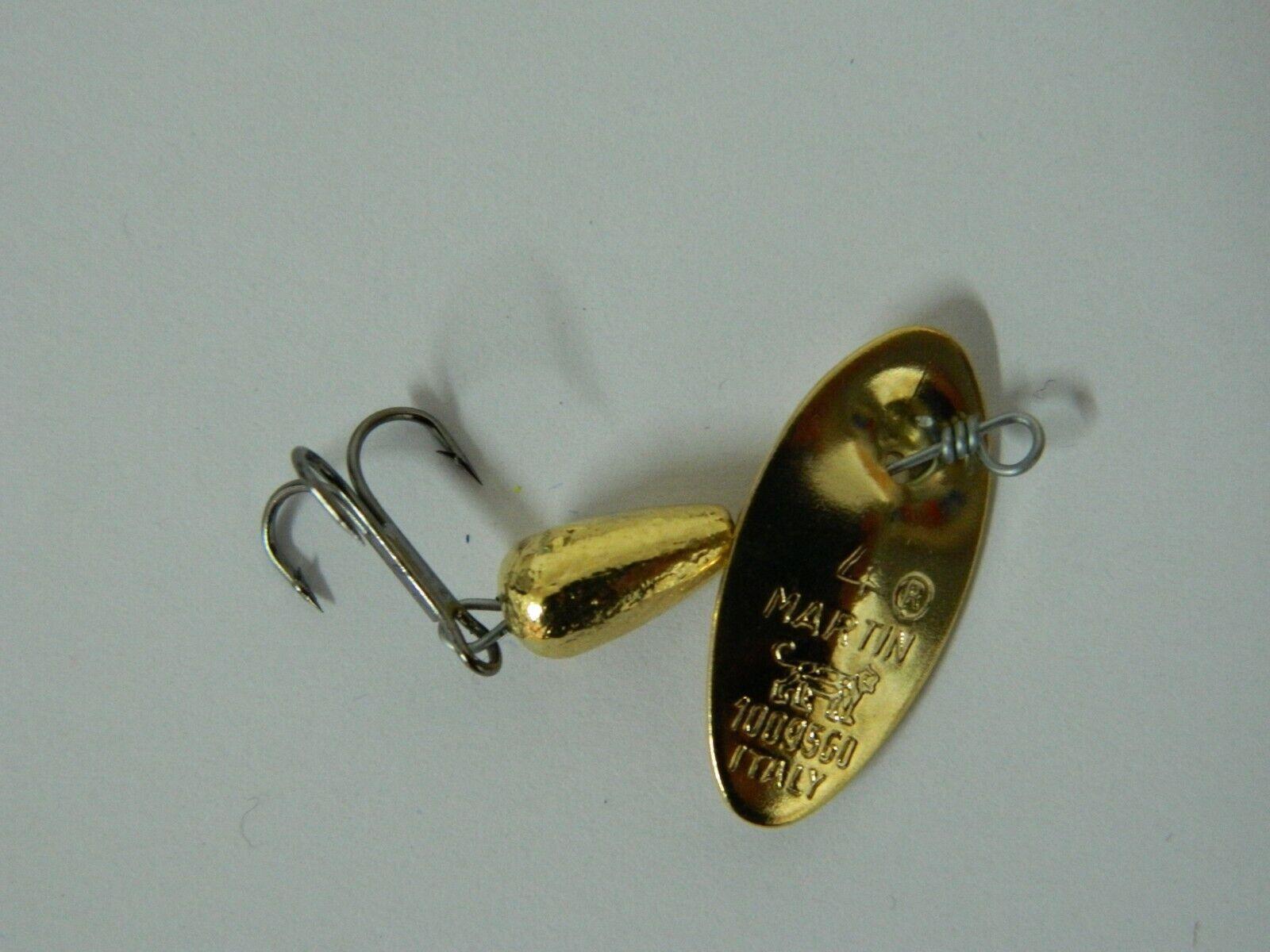 Cucchiaino ancoretta MARTIN originale per pesca fiume e lago acqua dolce H69