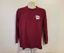 Trader Joes Grocery Store Chain Logo Fan Adult Medium Burgundy Jersey
