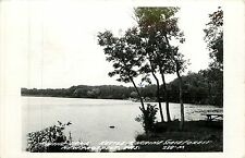 Wisconsin, WI, New Prospect, Mauthe Lake, Kettle Moraine State Forest RPPC 1963