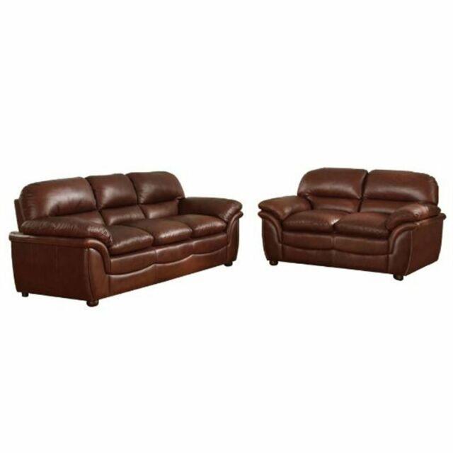 Prime Baxton Studio Redding 2 Piece Leather Sofa Set In Cognac Brown Beatyapartments Chair Design Images Beatyapartmentscom