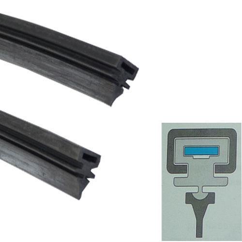 Bosch Scheibenwischer Wischergummi Paar 600mm innenliegende Federschiene A Z327