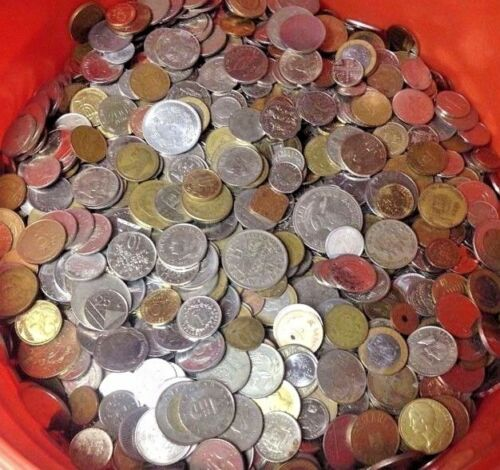 Exciting Mixed Bulk Lot of 100 Assorted World//Foreign Coins!