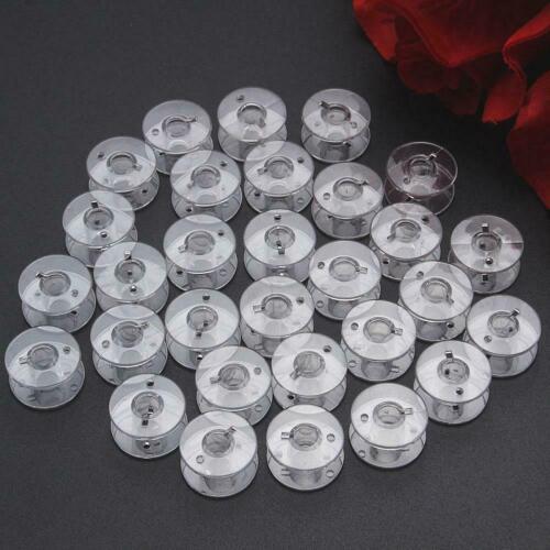 10x Clear Bobbins Sewing Machine Plastic Spool Brother plastic bobbin S6X6