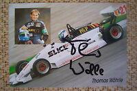 AK m.Orig.AG Thomas Wöhrle GER ex. Formel 3 Weltklasse