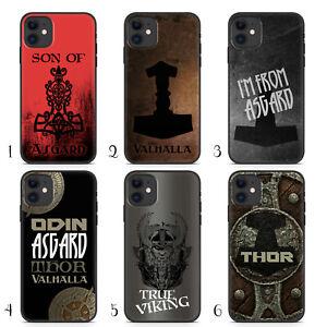 Handyhuelle-Valhalla-fuer-iPhone-Apple-Silikon-Odin-Thor-Viking-Wikinger-Gothic