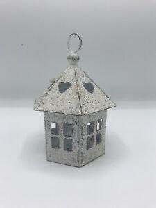 Windlicht Haus Im Shabby Stil Pavillon 6 Eckig Petti Rossi
