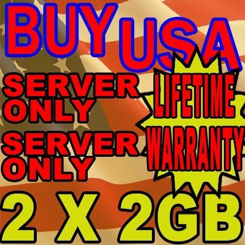 4GB KIT RAM MEMORY PC2-5300 667MHZ 1.8V ECC FULLY BUFFERED DDR2 240 PIN 2X2GB