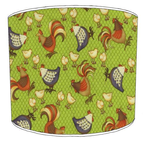 Huhn DESIGNS Lampenschirme passt ideal zu Vintage Retro Huhn Kissenbezüge