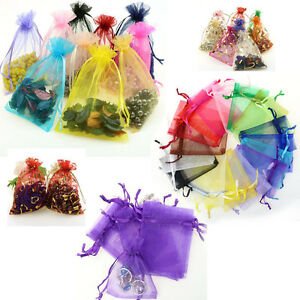 organza lingerie jewelry gift bags decor potpourri pouch