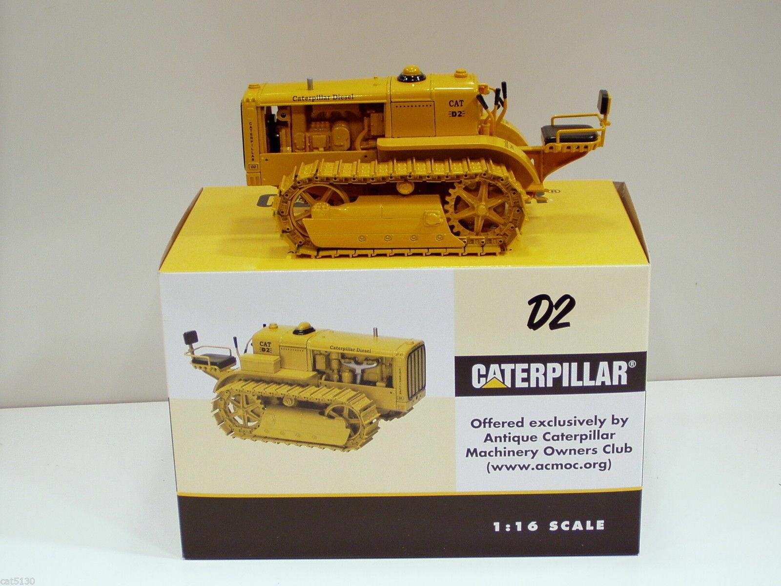 Bulldozer miniature caterpillar D2 ORCHARD 1 16 collection travaux publics...