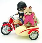 Sylvanian Families MOTORCYCLE AND SIDECAR Flair UK Retired 4511 Calico Critters