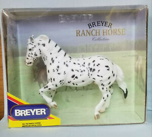 Breyer-750-Hank-Leopard-Appaloosa-Ranch-Horse-Model-Toy-USA-NICE-NIB