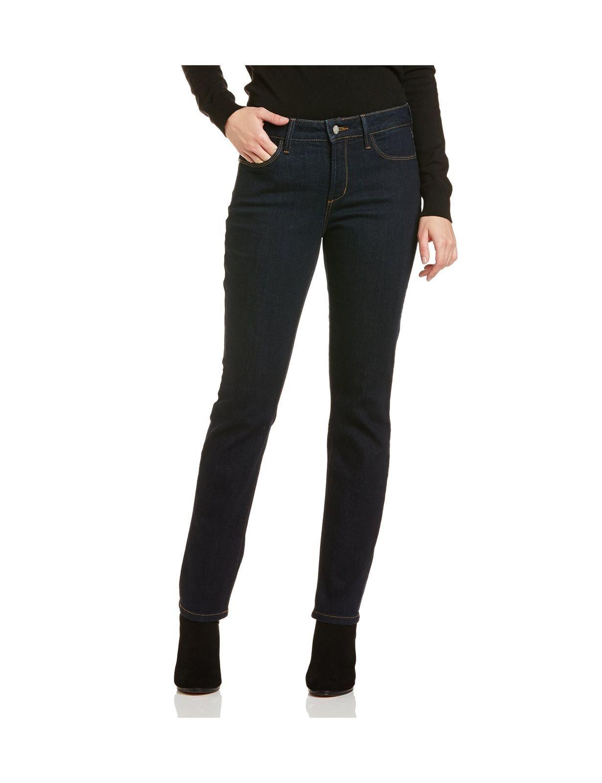 NYDJ Women P95C60LT Skinny Jeans bluee Dark Denim Size 16   32x28  RRP