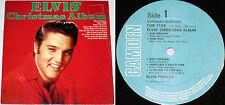 Elvis Christmas LP : RARE UK ONLY EXPORT EDITION VG+/M- CDS-1155 RCA CAMDEN 1970