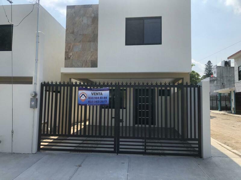 (CERCV2029) Casa en VENTA Col. NVO PROGRESO en Tampico  Info. 833 1046189 -  833 2632513
