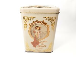 Vintage - Collector Tin - Cheinco Macfarlane Lang Boston New York Cakes Biscuits