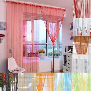 200x100 cm tenda a filo tende fili colorati decorazioni for Decorazioni tende