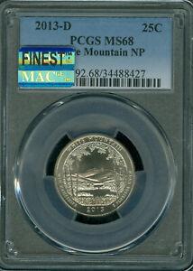 2013-D 25C White Mountain NP America the Beautiful Quarter PCGS MS67