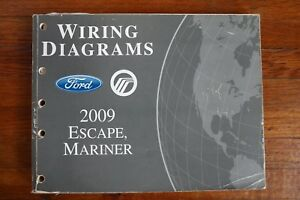 2009 Ford Escape Mercury Mariner Wiring Diagram Electrical ...