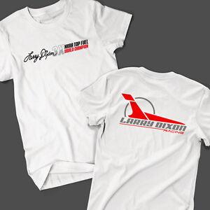 Larry-Dixon-3X-Top-Fuel-World-Champion-T-Shirt-NHRA-Drag-Racing-OFFICIAL-SIZE-S