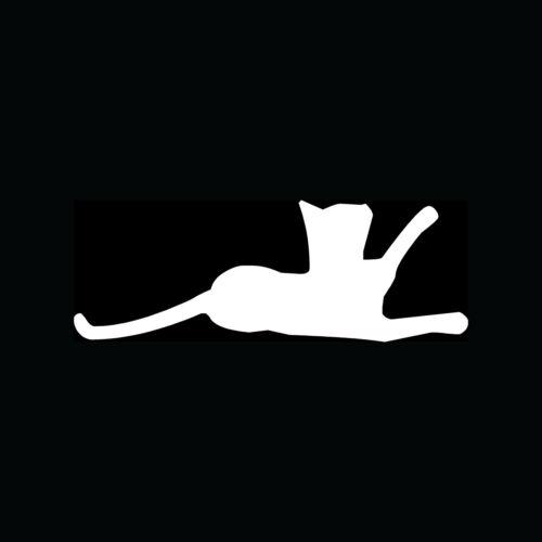 CAT KITTEN Silhouette Sticker Wall Decor Vinyl Decal Pet Lover Cute Room Girl S5
