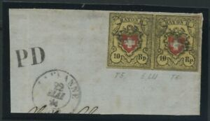 SCHWEIZ-1850-Nr-8II-gestempelt-106929