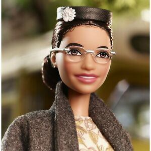 Rosa-Parks-Barbie-Inspiring-Women-Doll-New-In-Box-Mattel-IN-HAND-READY-TO-SHIP