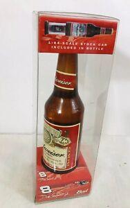 Collectible-Dale-Earnhardt-Jr-1-64-Scale-Car-Bottle-Budweiser-NASCAR-Diecast