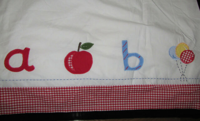 Nwt Pottery Barn Kids Unisex Red Amp White Gingham Check A