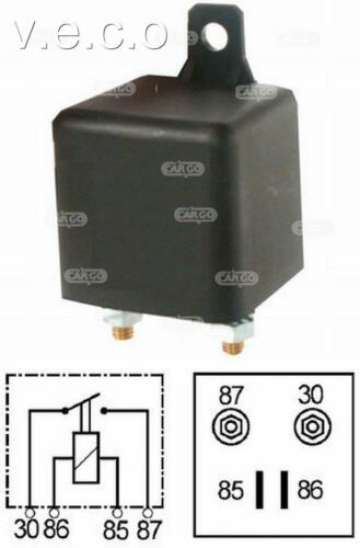 160477 12 Volt Extra Heavy Duty Fai /& INTERRUZIONE RELAY 100 Amp 4 pin di ricarica SPLIT