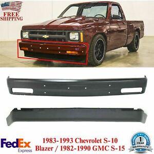 Para Choque Dianteiro Com Primer Valance Por 83 94 Chevrolet Blazer S10 82 93 S10 Pickup Ebay