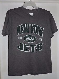 fc935e8a Details about New York Jets NFL Football Short Sleeve T-Shirt Gray Size  Large-NWT