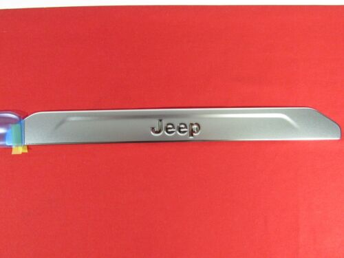 JEEP COMPASS Stainless Front Door Set Sill Guards NEW OEM MOPAR