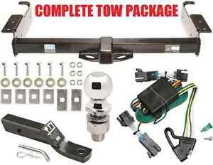2000 2002 gmc savana trailer hitch wiring harness kit. Black Bedroom Furniture Sets. Home Design Ideas
