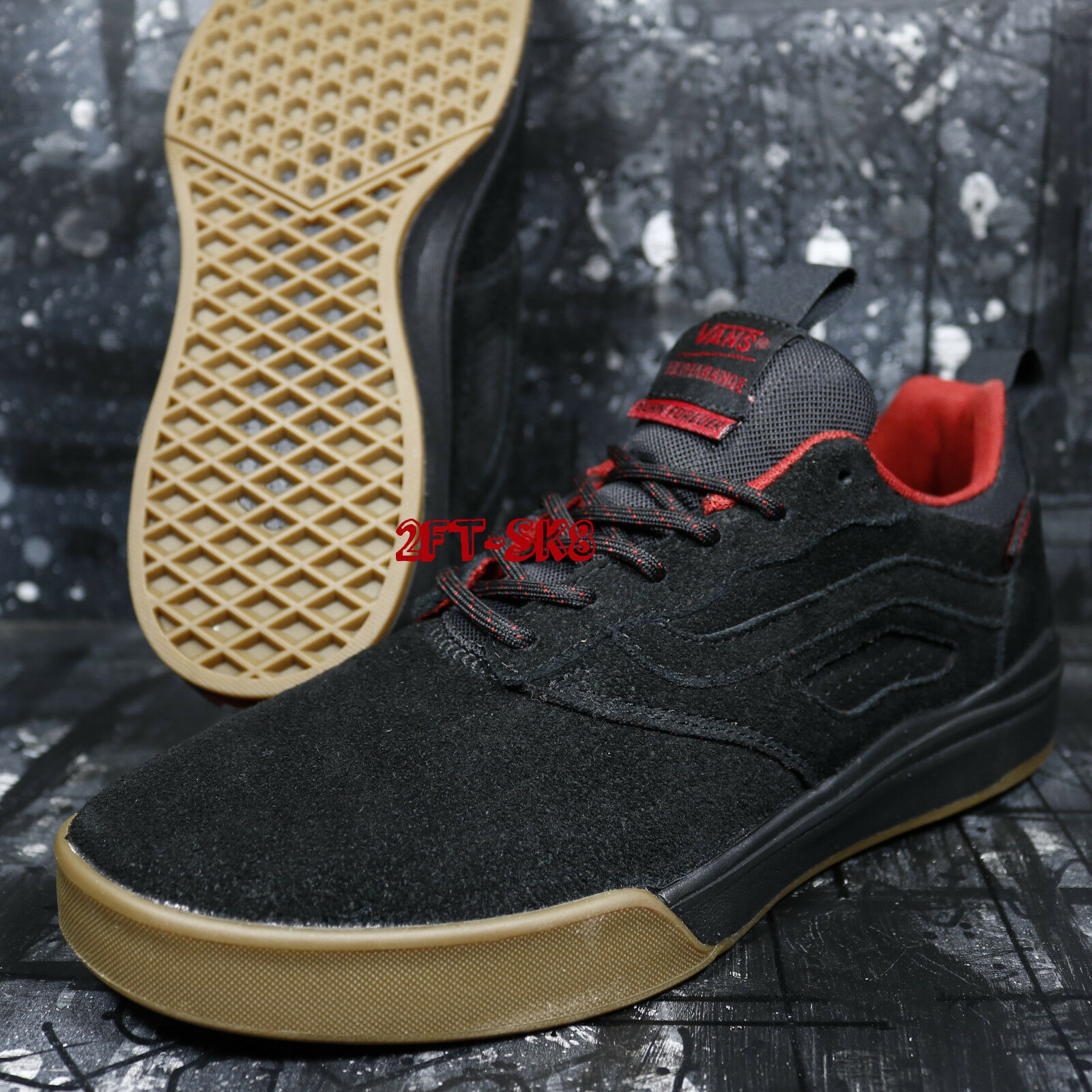 VANS ULTRARANGE PRO SPITFIRE Herren CARDIEL BLACK SUEDE  Herren SPITFIRE SKATE Schuhe/ S89247.129 7e1274
