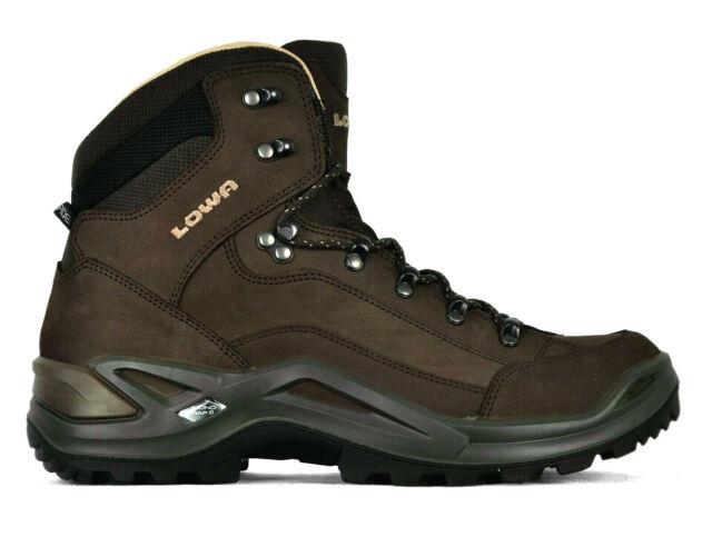 lagere prijs met online op voet beelden van Lowa Mens Renegade LL Mid Boots 310845 0442 Espresso Size 11